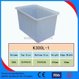 常州鼎唐供��50L-1500L塑料方箱 周�D箱 塑料方桶