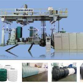吹塑机三格化粪池生产机器一体式化粪池生产设备