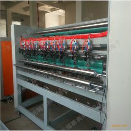 超声波毛巾布分条横切机,自动分切机 稳定高效 一人操作多台