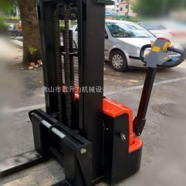 电动叉车 电动堆高车电瓶搬运车自动液压升高车装卸堆高机