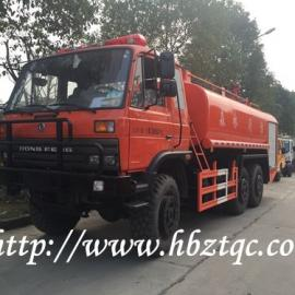 国五六驱消防供水车越野森林消防车