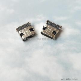 USB 3.0母座16P插板/TYPE-C母座16P 全插