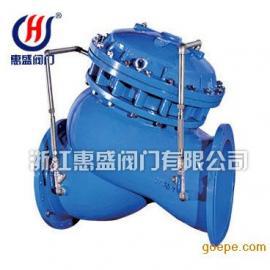 专业生产JD745X隔膜式多功能水泵控制阀