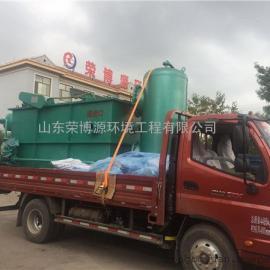一体化平流式溶气气浮机生产厂家 中小型工业污水处理设备价格