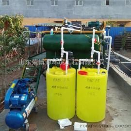 气浮机厂家 山东荣博源环境 溶气气浮机 碳钢防腐