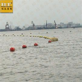 洛阳内河挡油浮漂 水上杂物治理拦截屏治理方案