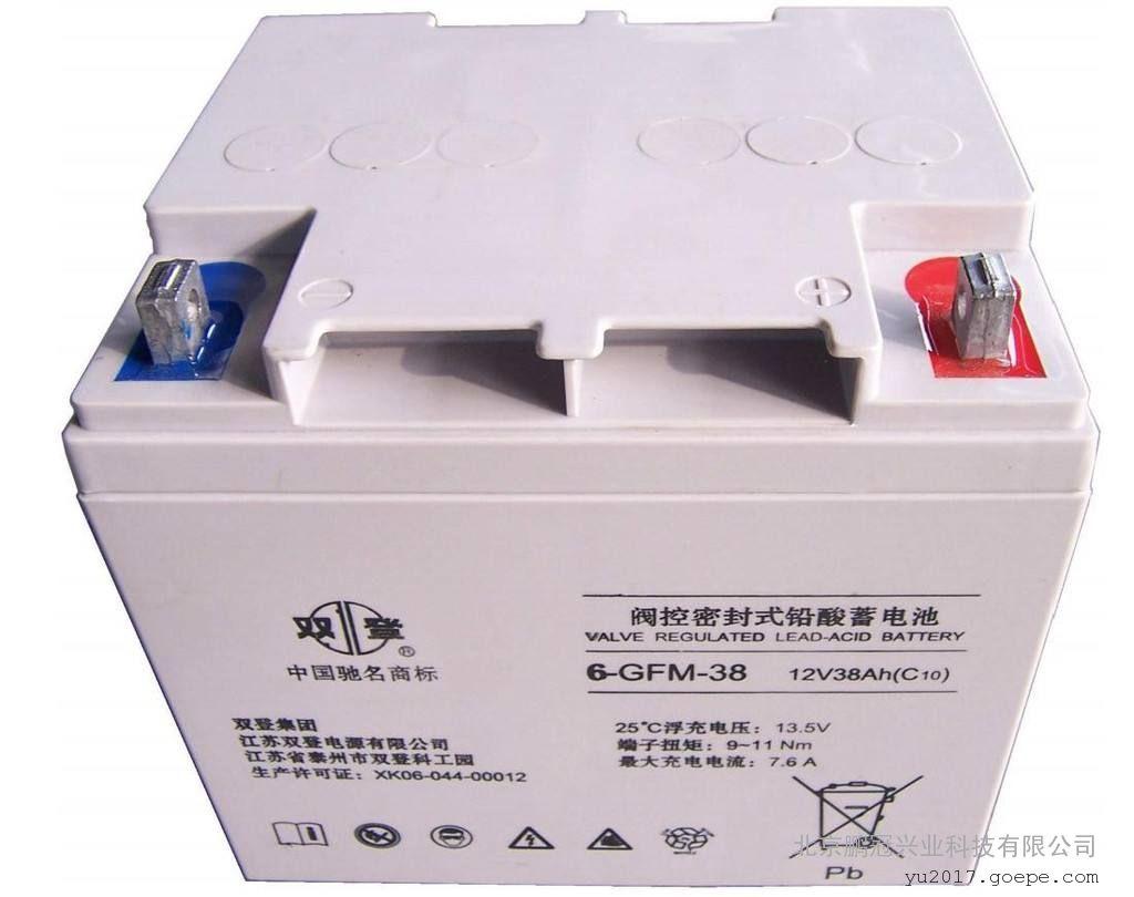 阀控密封式双登蓄电池6-GFM-100 12V100AH