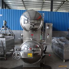 高温高压蒸汽杀菌锅喷淋式杀菌釜用于易拉罐玻璃瓶灭菌消毒