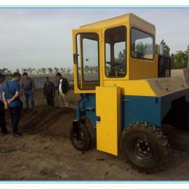 自走式翻堆机|一种用于快速生产加工有机肥的设备