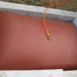 红泥沼气袋|应用于农村沼气池中储气发酵设备