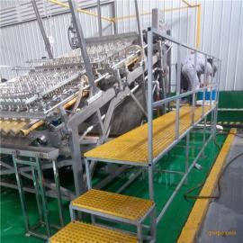 进口大虾专用剥壳机 全自动效率高 带有去壳分级清洗程序
