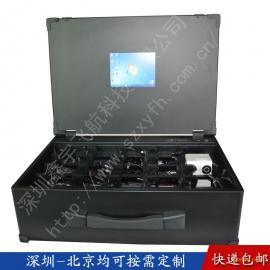 8.4寸工业便携机机箱军工电脑加固笔记本外壳一体机铝