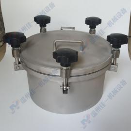 供应不锈钢圆形耐压人孔 喷砂面耐压人孔盖 压力型法兰人孔