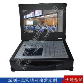 19寸工业便携机机箱定制工控一体机军工电脑加固笔记本