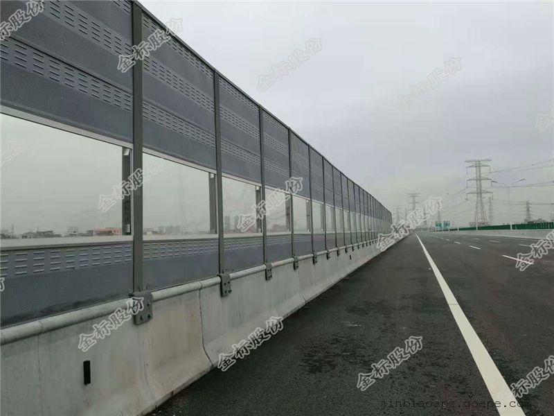 高速公路降噪声屏障、小区隔音透明屏体、铁路隔音声屏障