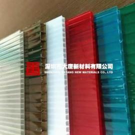 南通连云港淮安盐城扬州批发经销订做雨棚中空阳光板厂家电话