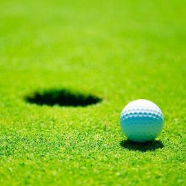傲胜高尔夫球人造草 开网单丝 高密度