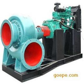 康明斯柴油机水泵柴油机混流泵柴油防汛排涝泵5000立方大流量水泵