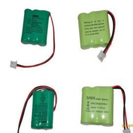 厂家直销3.6vAAA600 3.6V华为无绳电话电池