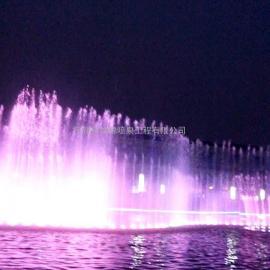 湖面音乐喷泉 程控喷泉 多变音乐喷泉