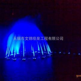 人工湖 大型音乐喷泉 组合变化音乐喷泉