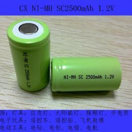 厂家直销NI-MH SC2500mAh扫地机电池