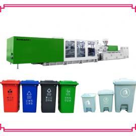 全自动环卫垃圾桶生产机器 120L环卫垃圾桶生产注塑机