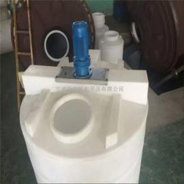 自动加药装置防腐塑料圆形加药桶一次成型加药箱