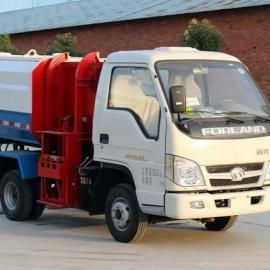 国五小型挂桶垃圾车_8方挂桶式垃圾车多少钱_东风12方挂桶垃圾车