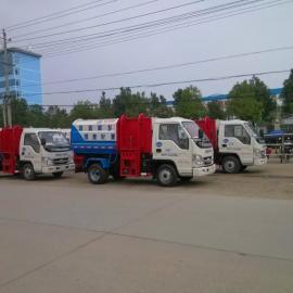 国五小型挂桶垃圾车_哪卖小挂桶垃圾车_哪卖天然气环卫车