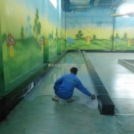 天津市宝坻区晶宝温泉农庄儿童乐园环氧自流平地坪