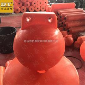 广东警戒线塑料浮球 水域漂浮式塑料浮球厂家