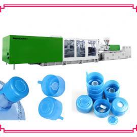 塑料聪明盖生产设备桶装水盖注塑机