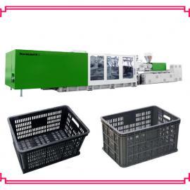 塑料筐生产机器-黑色一次性苹果筐葡萄筐桔子筐生产机器