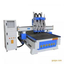 甘肃平凉全自动板式家具生产线 酒泉鞋柜定制多工序开料机