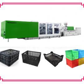 塑料筐生产机械-黑色苹果筐桔子筐葡萄筐生产机械