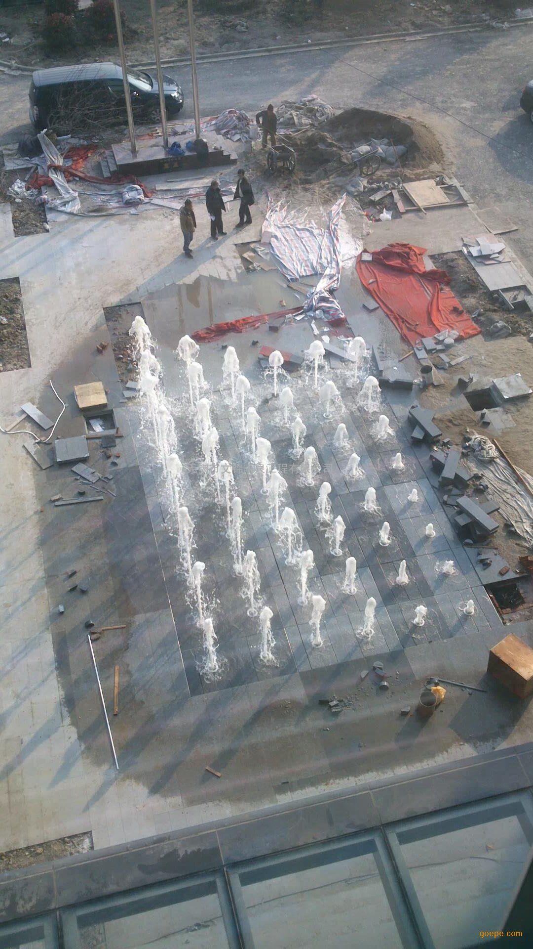 阵列喷泉 矩阵喷泉 密集喷泉 点阵喷泉