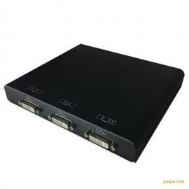 sinten三屏多屏宝数字版 DP输入 DVI输出