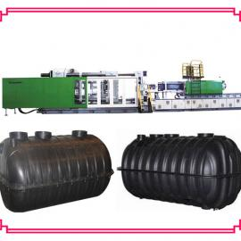 旱厕改造-塑料化粪池设备,三格化粪池注塑机,双翁化粪池