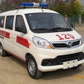 价格便宜的小型救护车首选福田伽途120急救车