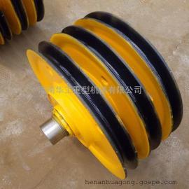 20t轧制加筋滑� 双梁吊�h滑� 钢丝绳导向滑� 非标定做