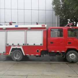 国五2吨庆铃五十铃水罐消防车动力小钢炮大马力小车身