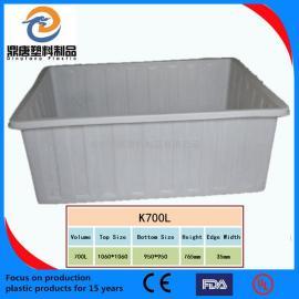 供��方桶 50L-1100L塑料方箱 周�D箱 方形周�D箱