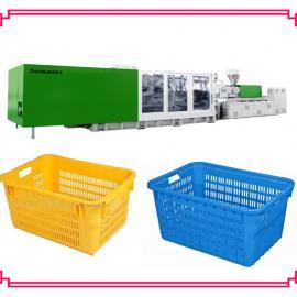 水果筐生产机械 蔬菜筐设备厂家 黑色一次性塑料筐生产厂家