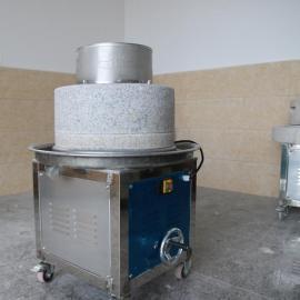 梅州电动石磨磨浆机古法传承技术国家专利设计
