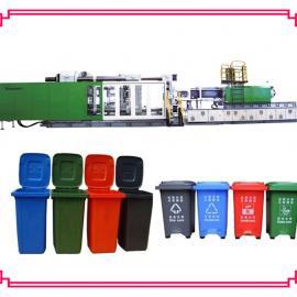 户外垃圾桶注塑机 塑料垃圾箱生产机器
