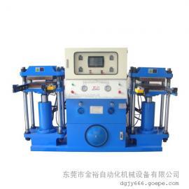 深圳油压机 硅胶商标礼品成型机