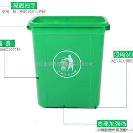 重�c分�塑料垃圾桶,小�室�染G色�窭�圾桶�r格