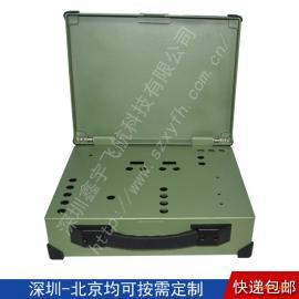 14寸工业便携机机箱定制无屏便携式军工电脑加固笔记本外壳
