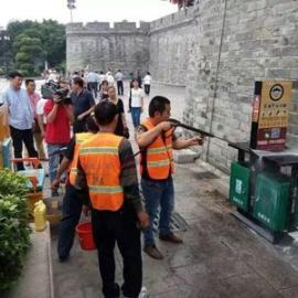 小广告清洗机 外墙清洗机 市政环卫街道清洗机 移动式高压清洗机